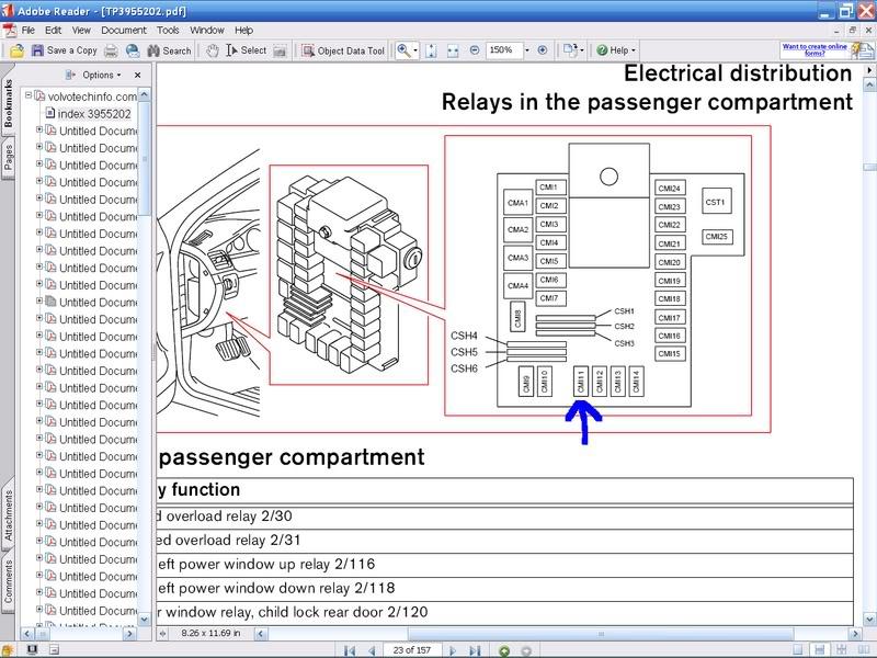volvo s60 2001 fuse relay diagram DARpUND volvo s60 2001 fuse relay diagram image details volvo relay diagram at gsmx.co