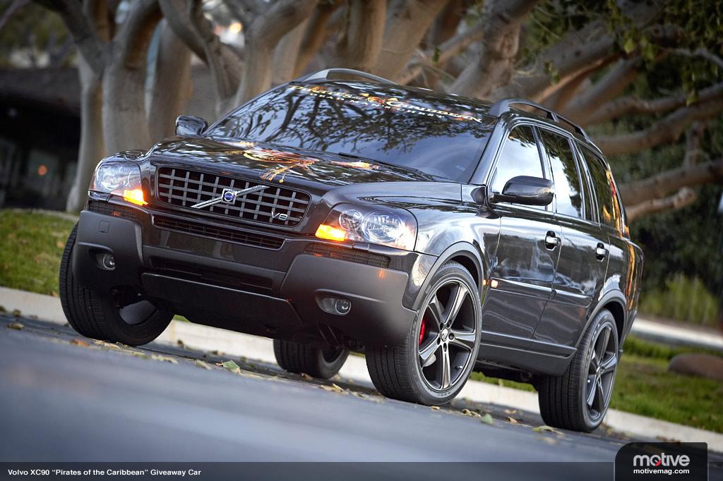 Volvo Xc90 2003 Volvoxc90piratesofthe