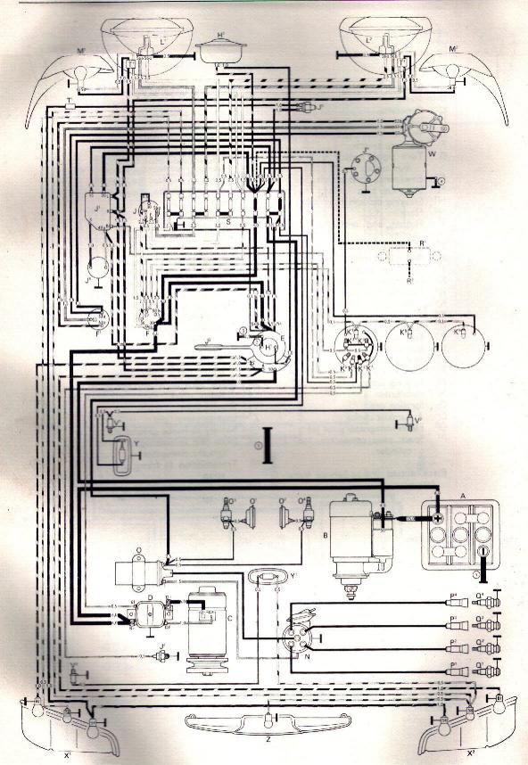VW 1600 Firing Order Diagram