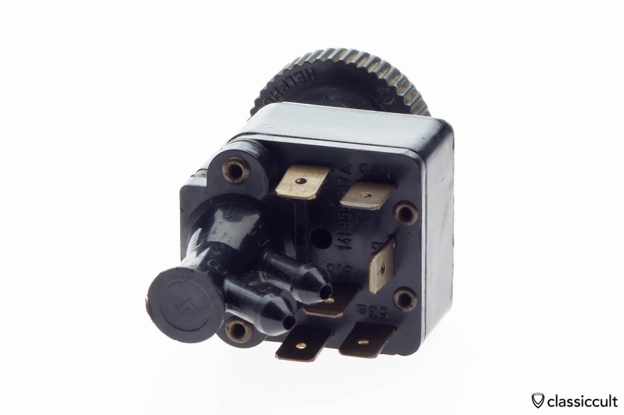 VW Beetle Wiper Switch