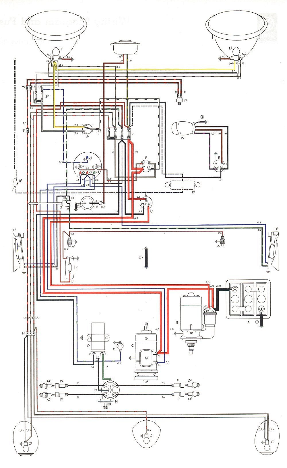 vw beetle wiring diagram RQJzFNj 05 vw bug headlight wire harness 05 wiring diagrams collection Wiring Harness Diagram at eliteediting.co