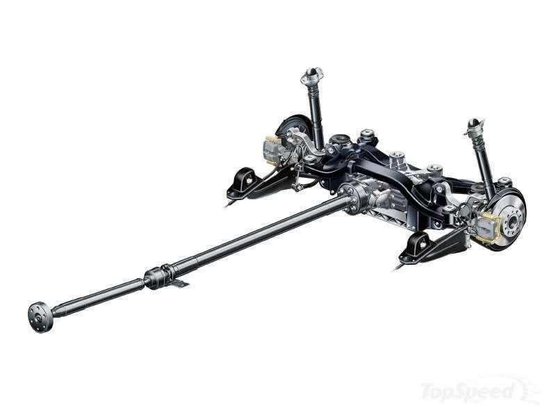 VW Golf Rear Suspension Diagram