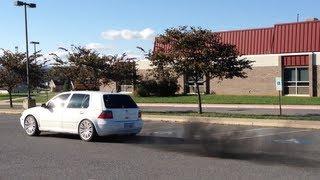 VW Golf TDI Straight Pipe Exhaust