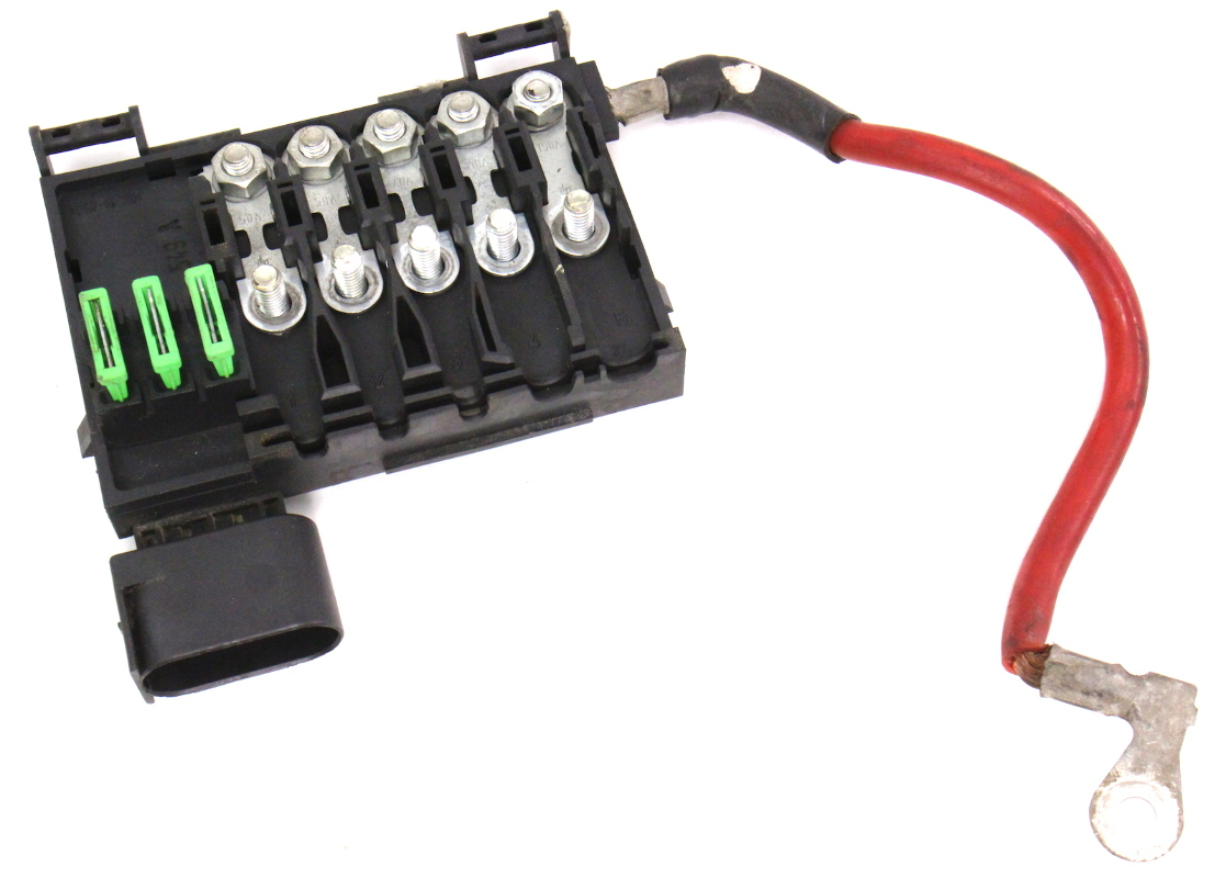 VW Jetta Battery Fuse Box
