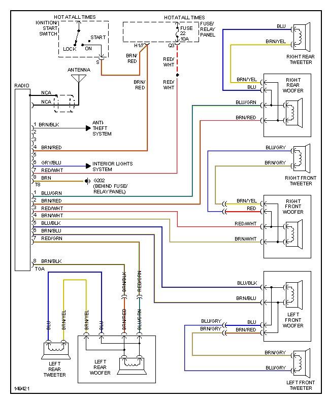 2005 jetta stereo wiring harness wiring diagram write  2005 vw jetta wiring diagram #14