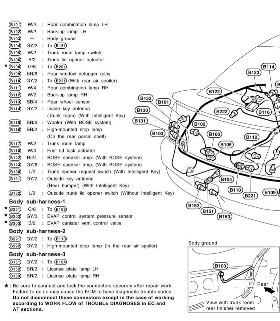 VW Jetta Tail Light Wiring Diagram