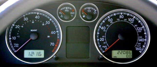 "VW Passat ""InDash"" 0  20psi Boost Gauge Install Guide  By Chris"
