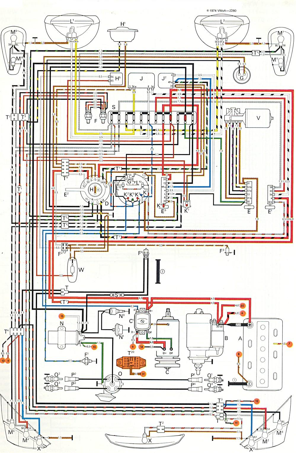 1979 Vw Super Beetle Wiring Diagram 1979 vw beetle fuel ... Vw Beetle Fuel Injection Wiring Diagram on