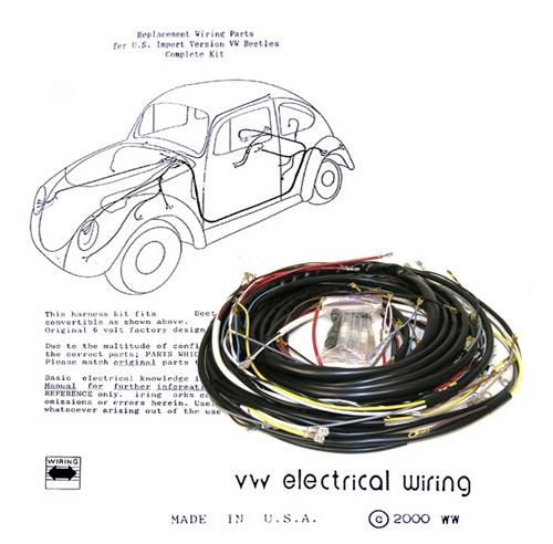 1972 volkswagen super beetle wiring vw super beetle wiring harness image details  vw super beetle wiring harness image
