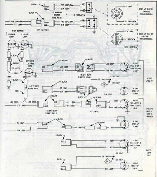 Vw Tail Light Wiring Diagram - Schematics Online F Rear Lights Wiring Harness on