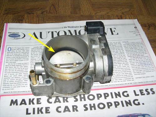 VW Throttle Valve Control Module
