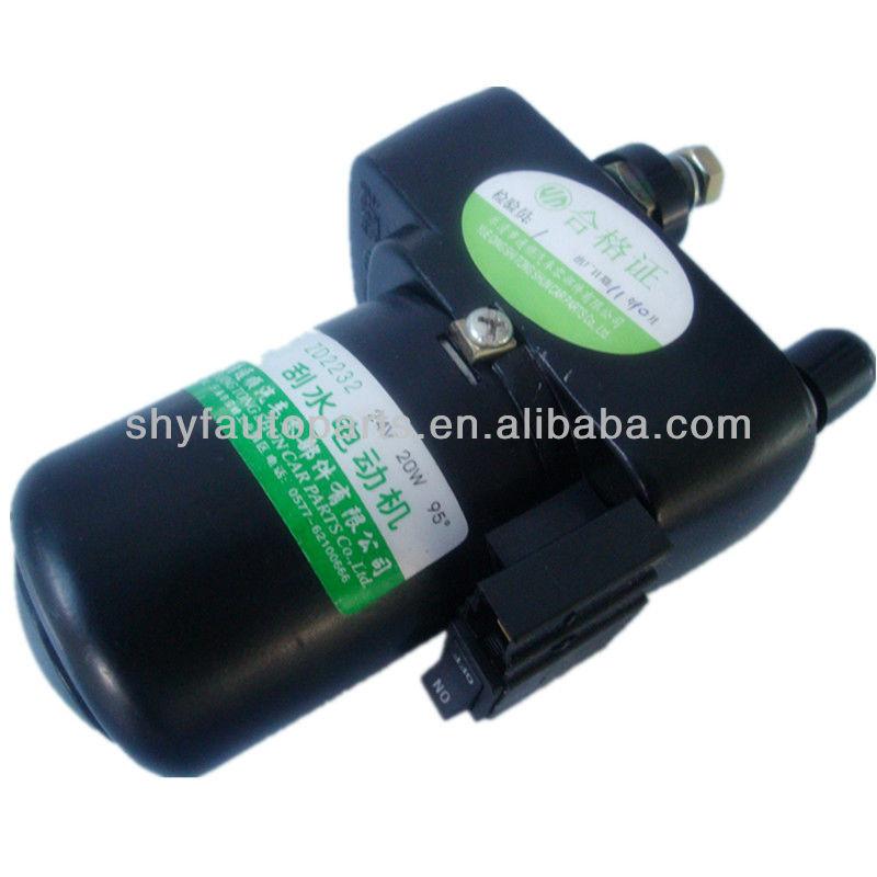 Wiper motor > Tractor Wiper Motor 24V Engineering Vehicle Motor for