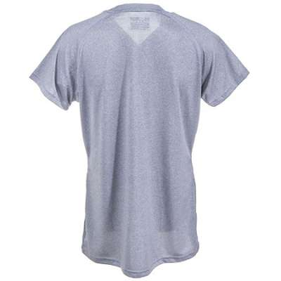 : Women's Heather Grey 1228321 025 UA Tech Moisture Wicking Shirt