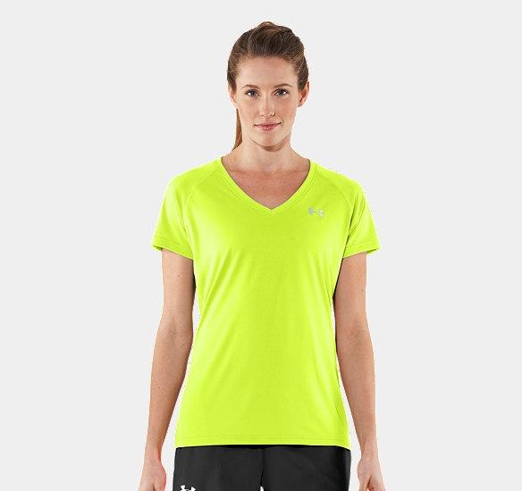 Women's UA Tech? Short Sleeve VNeck | 1228321 | Under Armour US