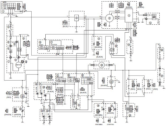 yamaha warrior 350 wiring diagram the wiring diagram 1987 yamaha warrior 350 wiring diagram wiring diagram and hernes wiring diagram