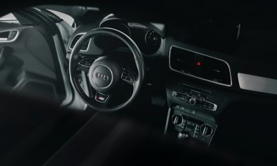 Car interior with mold