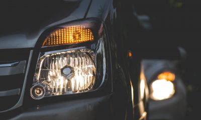 car moistured headlights