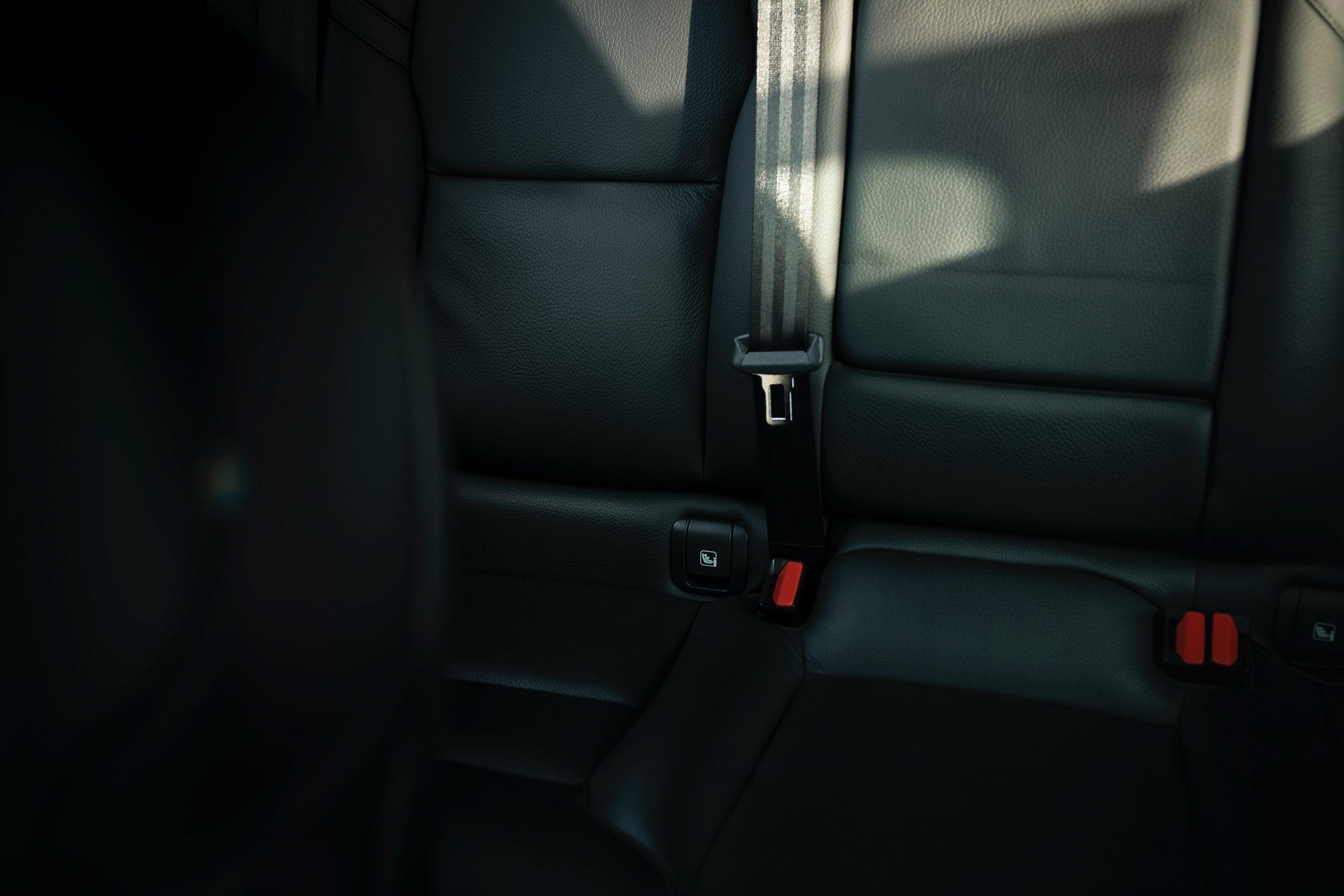 Stucked seatbelt
